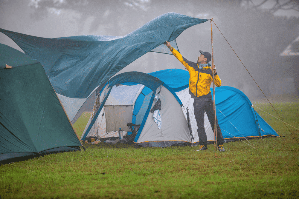Waterproof Ratings of Camping Tents