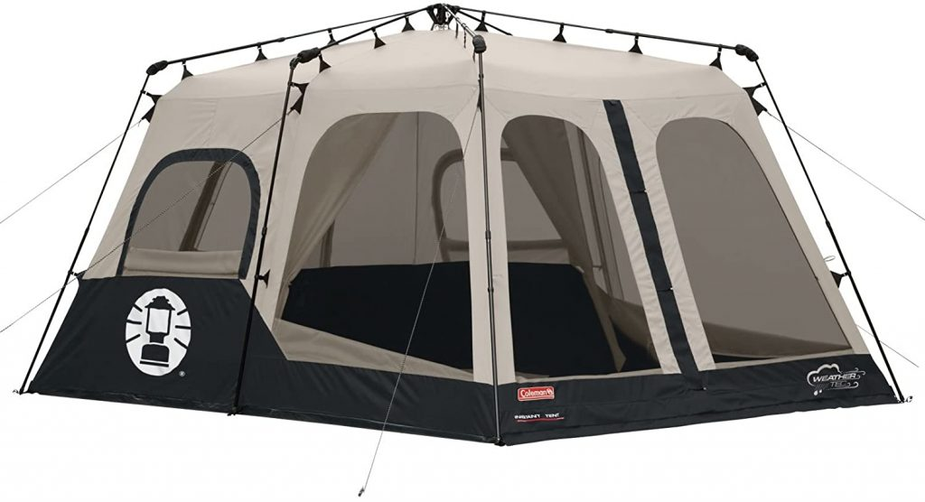 Features of Coleman 8 Person Instant Cabin Tent 14 x 10