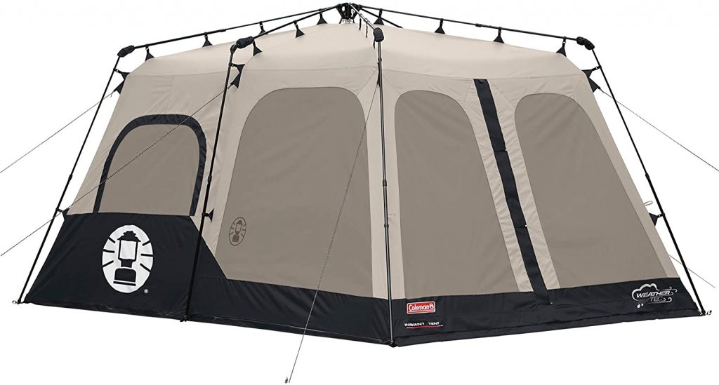 Review of Coleman 8 Person Instant Cabin Tent 14 x 10