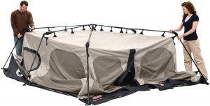 Coleman 8-Person Instant Tent setup 2