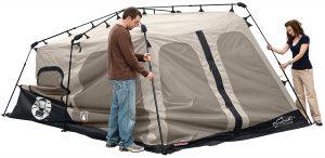 Coleman 8-Person Instant Tent setup 3