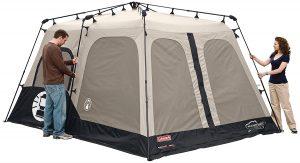 Coleman 8-Person Tent setup