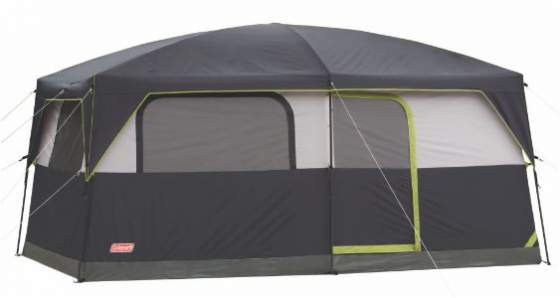 Features of Coleman Prairie Breeze 9 Person Cabin Tent