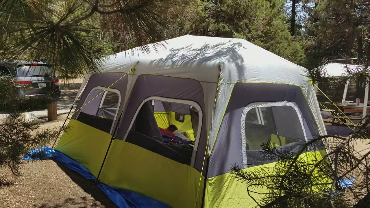 Core 12 Person Instant Cabin Tent for family