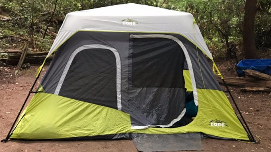 Features of Core 6 Person Instant Cabin Tent