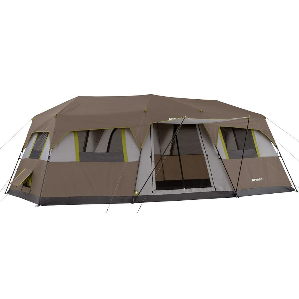 Ozark Trail 12 Person 3 Room Instant Cabin Tent Screen Room Review