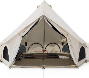 White Duck Outdoors Avalon Canvas Bell Tent