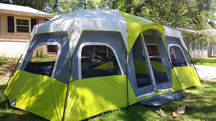 Features of Core 9 Person Instant Cabin Tent