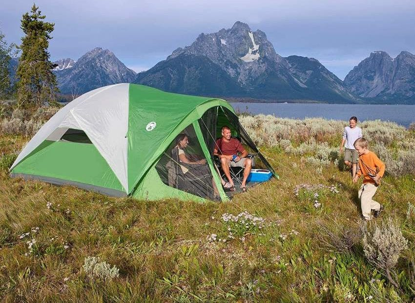 Coleman Evanston 8 Person Family Dome Tent Review & Buying Guide