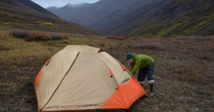ALPS Mountaineering Lynx 1 Person Tent Setup